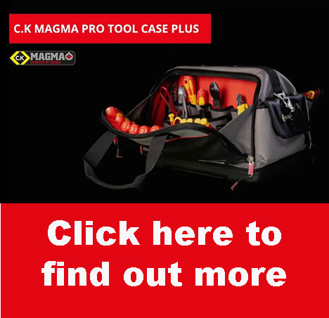 The New C.K Magma Pro Tool Case Plus –  A Place for Every Tool and Every Tool in its Place!