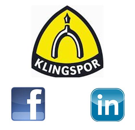 New Social Media Accounts For Klingspor