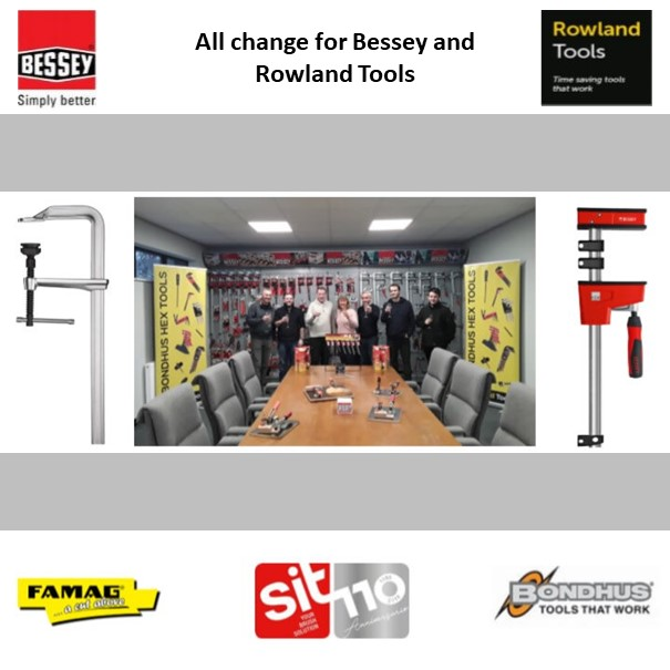 All change for Bessey and Rowland Tools