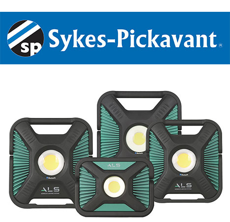 The Advanced Lighting Systems Range from Sykes-Pickavant offers a Wide Selection of Solutions for the Industrial Sector and Includes Two Year Warranty