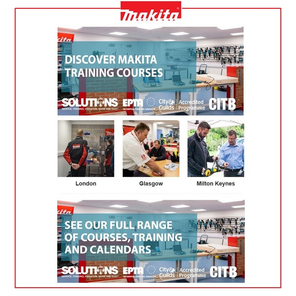 Discover Makita Training Courses